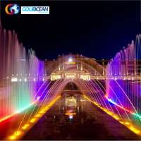 FREE DESIGN Large Outdoor Lighting Control System Music Fountain