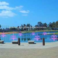 New Free Design Outdoor Static Water Pond Floating Fountain