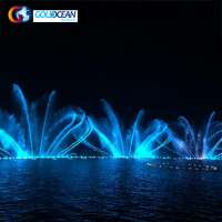 Floating Dancing Fountain Outdoor Big Water Fountains On Lake